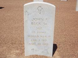 John F Beck, Sr