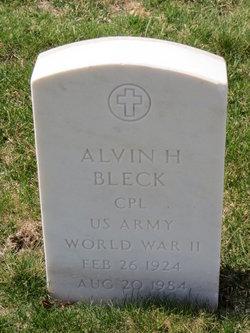 Alvin Bleck