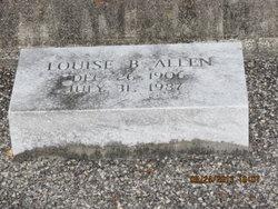 Louise B Allen