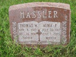 Alma P. <i>Harter</i> Hassler