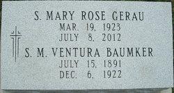 Sr Mary Ventura Baumker