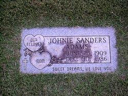 Johnie I <i>Sanders</i> Adams