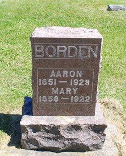 Mary <i>Cayton</i> Borden