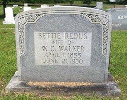 Bettie <i>Redus</i> Walker