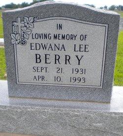 Edwana Lee Berry