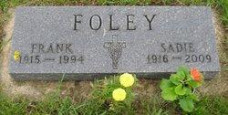 Sadie E. <i>DeJaeger</i> Foley