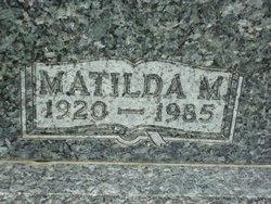 Mathilda Martha <i>Goldenstein</i> Aalfs