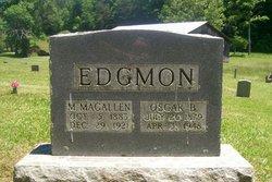 Oscar Burton O B Edgmon