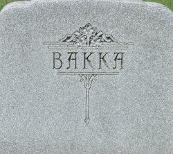 Maria <i>Antila</i> Bakka