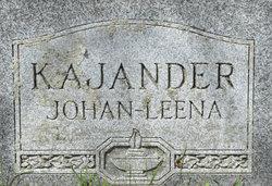 Johan A. Kajander