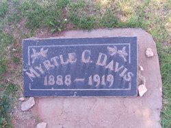 Myrtle Clare Davis