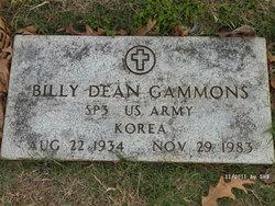 Billy Dean Gammons