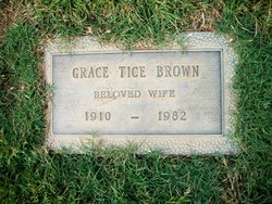 Grace Tice <i>Fisher</i> Brown