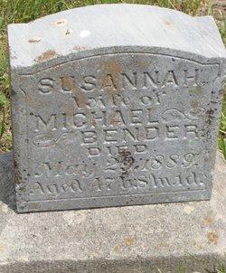 Susannah <i>Kauffman</i> Bender