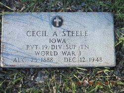 Cecil A Steele