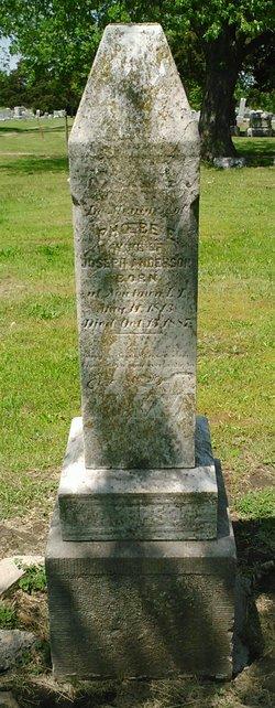 Phoebe E. <i>Morrell</i> Anderson