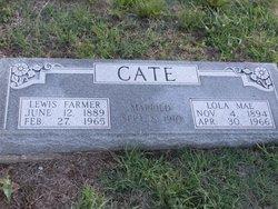 Lewis Farmer Cate