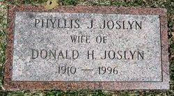 Phyllis J. <i>Lumbard</i> Joslyn