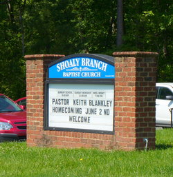 Shoaly Branch Baptist Cemetery