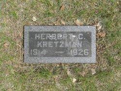 Herbert C Kretzman