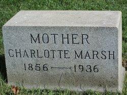 Charlotte Ann Lottie <i>Burroughs</i> Marsh