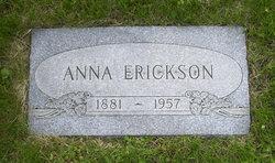 Anna <i>Erickson</i> Erickson