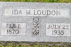 Ida May E <i>Davisson</i> Loudon