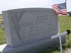 Etta Martha <i>Tammen</i> Estes