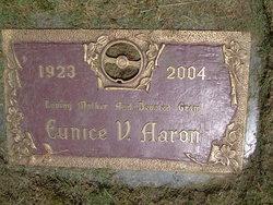 Eunice V <i>Bowser</i> Aaron