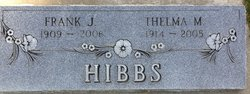 Thelma M Hibbs