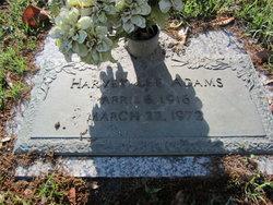 Harvey Lee Adams
