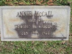 Annie <i>McCall</i> Gribble