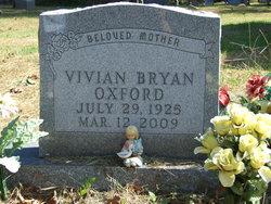 Vivian <i>Bryan</i> Oxford