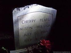 Cherry Pearl <i>Austin</i> Holston