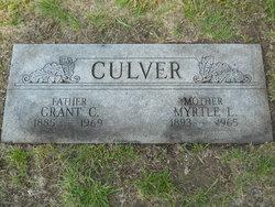 Myrtle Luella <i>Ingels</i> Culver
