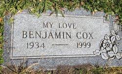 Benjamin Alfred Bennie Cox