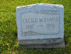 Cecile A <i>Miller</i> Evans
