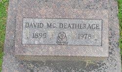 David McCord Deatherage