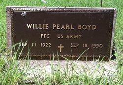 Willie Pearl Boyd, Sr