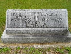 Frances T. <i>Barnes</i> Banta