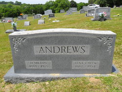 Lena <i>Cheek</i> Andrews