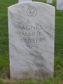 Agnes Marie Barber