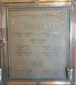 Matie <i>Sargent</i> Vail
