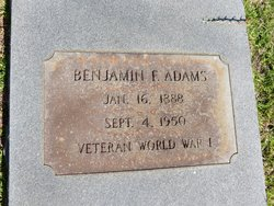 Benjamin Franklin Adams