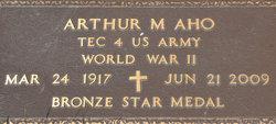 Arthur Mathias Art Aho