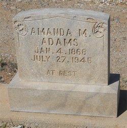 Amanda Matilda <i>Etrick</i> Adams