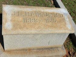 Dr J. E. Hair, Jr