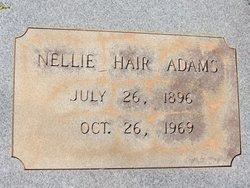 Nellie Alma <i>Hair</i> Adams
