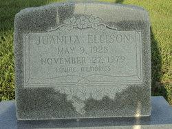 Juanita <i>Monroe</i> Ellison
