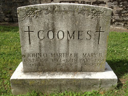 Mary B Coomes